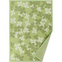 Zelený vzorovaný oboustranný koberec Narma Nurme, 70x140cm