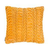 Žlutý polštář ZicZac Glister, 45x45cm