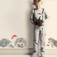 Znovu snímatelná samolepka Bear, 79x22 cm