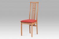 Autronic Dřevěná židle BC-12481 BUK3, bez sedáku
