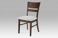 Autronic Dřevěná židle ořech, AUC-5527 WAL -  BEZ SEDÁKU