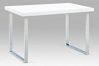 Autronic Jídelní stůl A770 WT kov/bílý lak