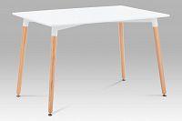 Autronic Jídelní stůl SDT-705 WT1, bílá / natural