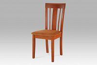 Autronic Jídelní židle BEZ SEDÁKU, barva třešeň BE1606 TR2