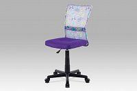 Autronic Kancelářská židle KA-2325 PUR, fialová