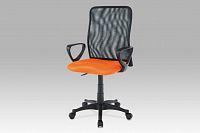 Autronic Kancelářská židle KA-B047 ORA, oranžová