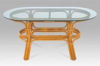 Autronic Konf.stolek oval ULTRA-bez skla
