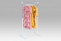 Autronic Stojan na šaty chrom / bílá ABD-1201 WT