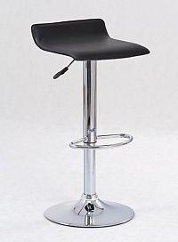 Barová židle ZH-1, černá