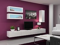 CAMA *Obývací stěna VIGO 11, bílá/bílý lesk