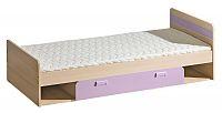 Casarredo LORENTTO, postel L13, jasan/fialová,včetně matrace