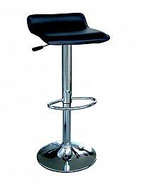 DEMEYERE DAIN, barová židle, černá