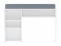 DEMEYERE FALOU záhlaví postele, bílá/šedá