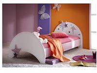 DEMEYERE FEI, postel 90x200 cm, fialková