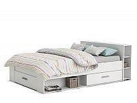 DEMEYERE PACKET postel 160x200 cm, bílá