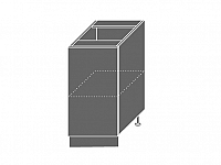 Extom EMPORIUM, skříňka dolní D1D 40, korpus: grey, barva: light grey stone