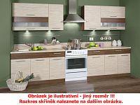 Extom Kuchyně KAMMDUO 210/270, tráva/ořech