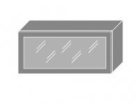 Extom PLATINUM, skříňka horní prosklená W4bs 80 ALU, jersey