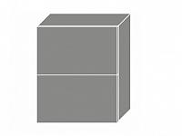 Extom PLATINUM, skříňka horní W8B 60 AV, korpus: lava, barva: vanilla