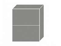Extom QUANTUM, skříňka horní W8B 60 AV, beige mat/grey