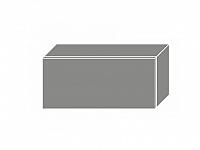 Extom TITANIUM, horní skříňka W4b 80, korpus: bílý, barva: fino černé