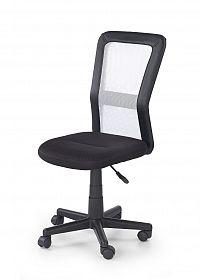 Halmar Dětská židle COSMO, černá/bílá