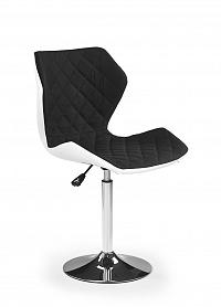 Halmar Dětská židle MATRIX 2, bílá/černá