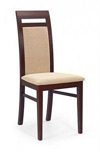 Halmar Jídelní židle ALBERT, ořech tmavý