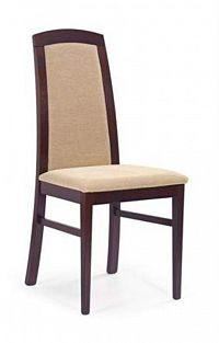 Halmar Jídelní židle DOMINIK, ořech tmavý