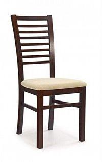 Halmar Jídelní židle GERARD 6, ořech tmavý
