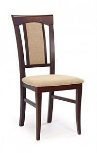 Halmar Jídelní židle KONRAD, ořech tmavý