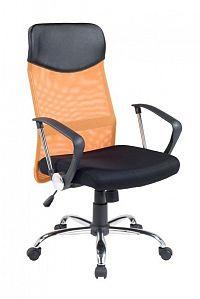 Halmar Kancelářské křeslo VIRE, černá/oranžová