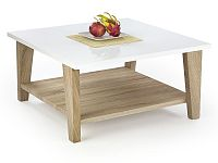 Halmar Konferenční stolek KIANA, bílá/dub sonoma