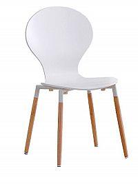 Halmar Židle K164, bílá