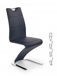 Halmar Židle K188, černá