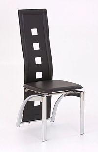 Halmar Židle K4, černá