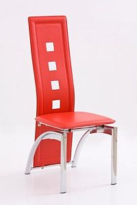 Halmar Židle K4, červená