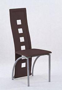 Halmar Židle K4M, tmavě hnědá