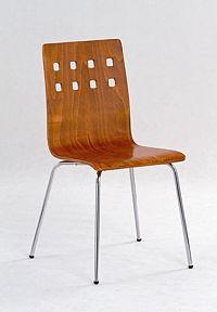 Halmar Židle K82, třešeň antická