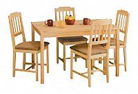 Idea Jídelní stůl 8848, masiv borovice
