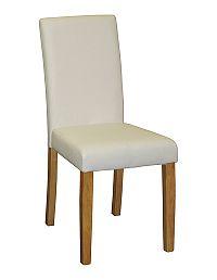 Idea Jídelní židle Prima, bílá/světlé nohy