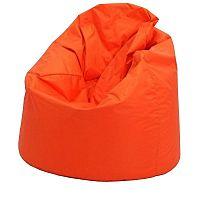 Idea JUMBO, sedací vak, oranžová