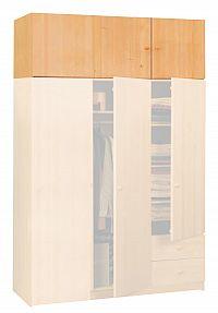 Idea Nástavec trojdveřový 899, masiv smrk