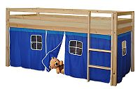 Idea Stan pro patrovou postel 832, látka S2 - modrý
