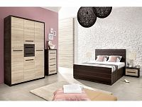 KOLDER ložnice, dub canterbury/dub sonoma