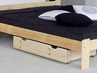 MAGNAT Úložný prostor pod postel 98 cm, masiv borovice