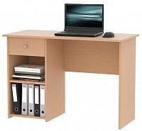 MB Domus Praktický psací stůl se zásuvkou KURT, buk