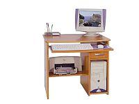 MORAVIA FLAT PC stůl s výsuvnou deskou MEDIUM, barva:
