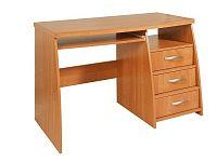 MORAVIA FLAT PC stůl se šuplíky IBIZA 3, barva: