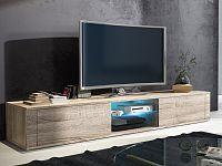 MORAVIA FLAT TV stolek HIT, dub sonoma